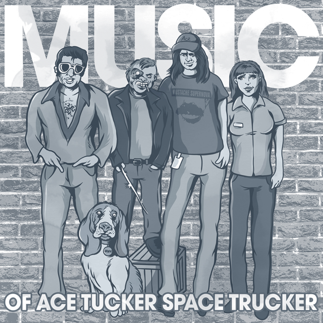 Music of Ace Tucker Space Trucker compilation album