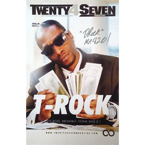 T-Rock - Twenty4Seven Magazine 11 x 17 Poster (Autographed)