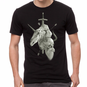 Vikings vs. Unicorns T-Shirt