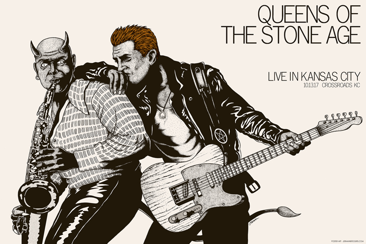- NEW Queens Of The Stone Age (KC) -