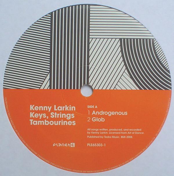 Kenny Larkin – Keys, Strings, Tambourines LP (Planet E)