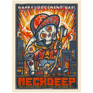 Neck Deep Rock City - Print