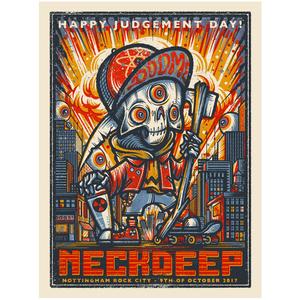 Neck Deep Rock City - Print