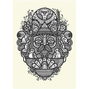 The Woodsman - Print