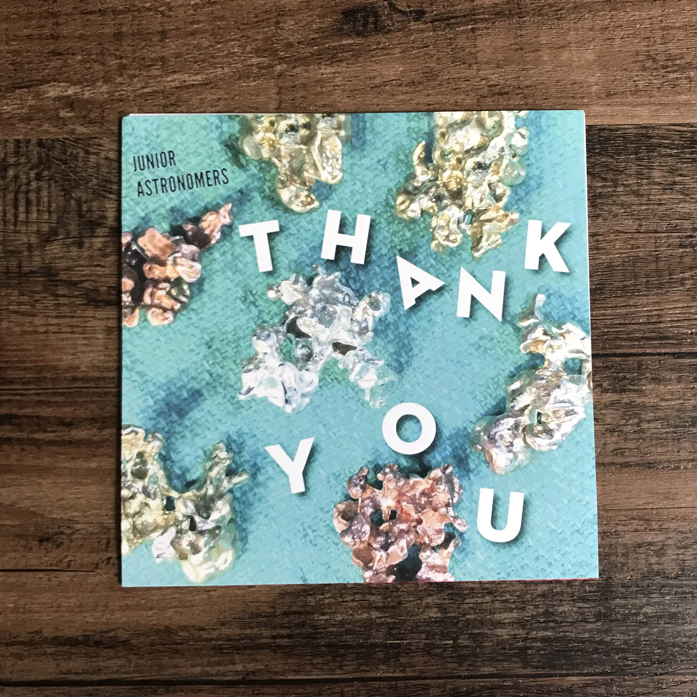 Junior Astronomers - Thank You