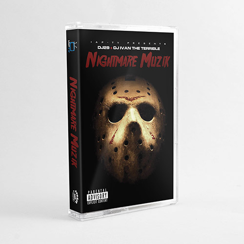 Various Artists - IAP-TV Presents Nightmare Muzik (Limited Edition Cassette)