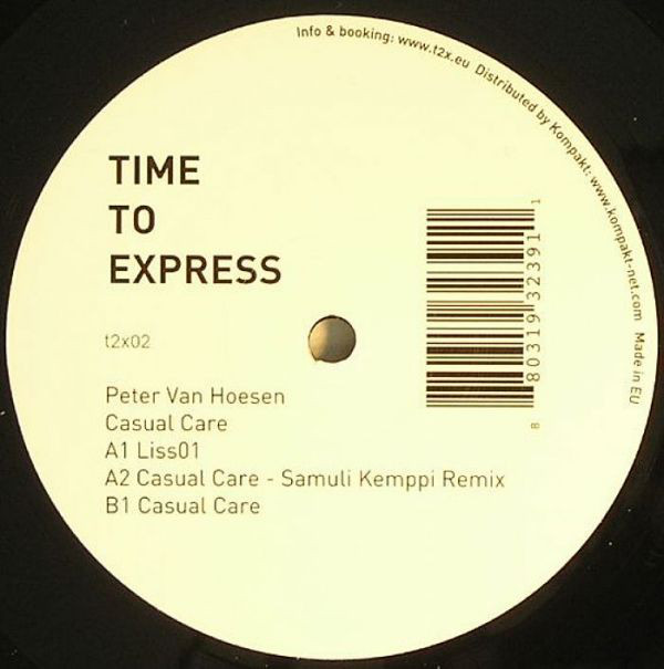 Peter Van Hoesen – Casual Care (Time To Express)
