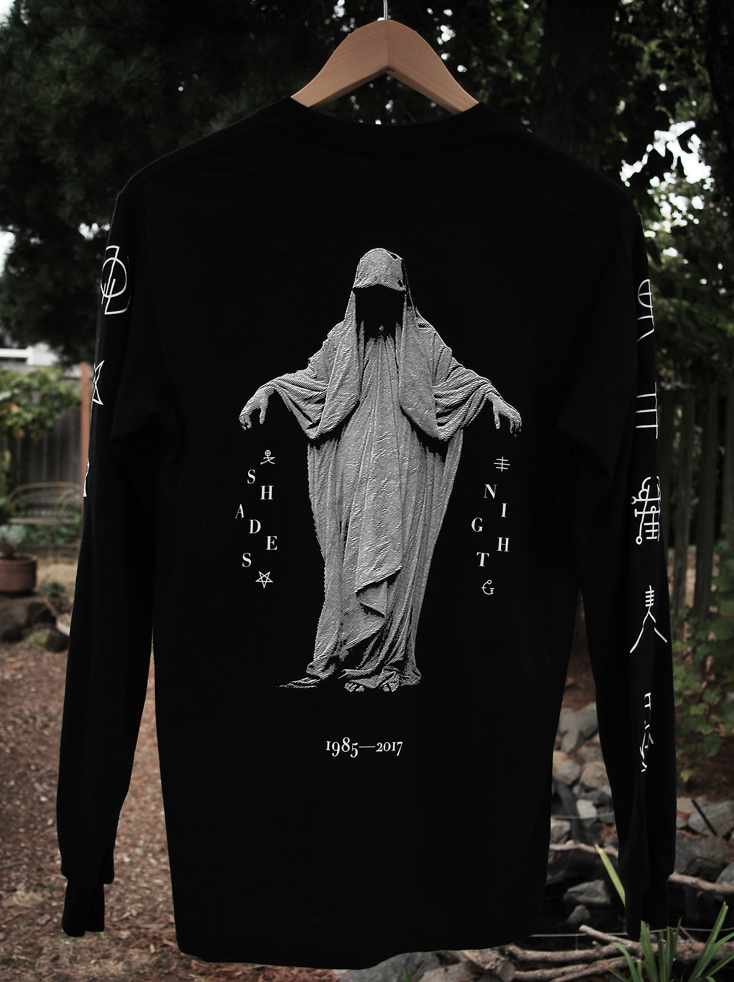 Shades - Night The Dreadless Angel Long Sleeve Tee