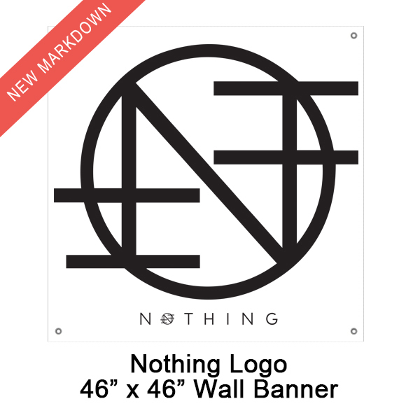 Nothing - Logo Flag *Markdown*