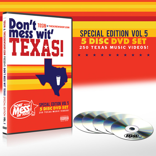 Tosin & TheScrewShop.com - Don't Mess Wit' Texas! Special Edition Vol. 5