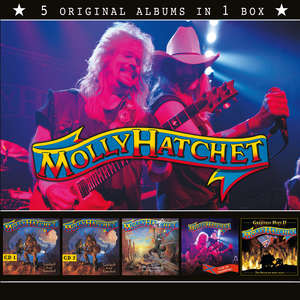 Molly Hatchet - 5 Original Albums In 1 Box