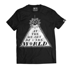 At The Heart Of The World - Only Distortion Is Real T-shirt