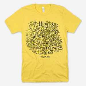 Mac Demarco THIS OLD DOG YELLOW T-SHIRT