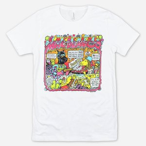 Mac Demarco MONTERO PONIES WHITE T-SHIRT
