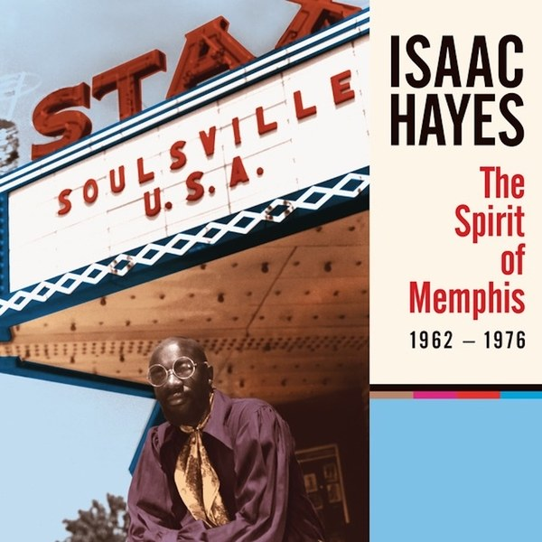 "Isaac Hayes: The Spirit of Memphis (1962-1976), 4CD + 7"" Vinyl Box Set"