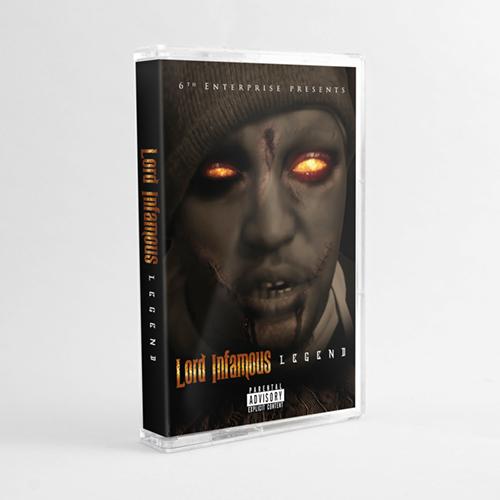 Lord Infamous - Legend (Cassette)