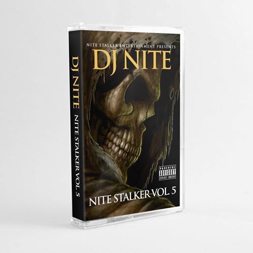 DJ Nite - Nite Stalker Vol. 5 (Cassette)