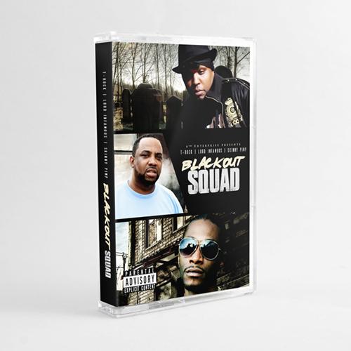 T-Rock, Skinny Pimp & Lord Infamous - Blackout Squad (Cassette)
