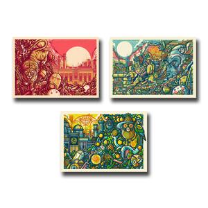 Northern Monk 'Northern Tropics' - 3 print set