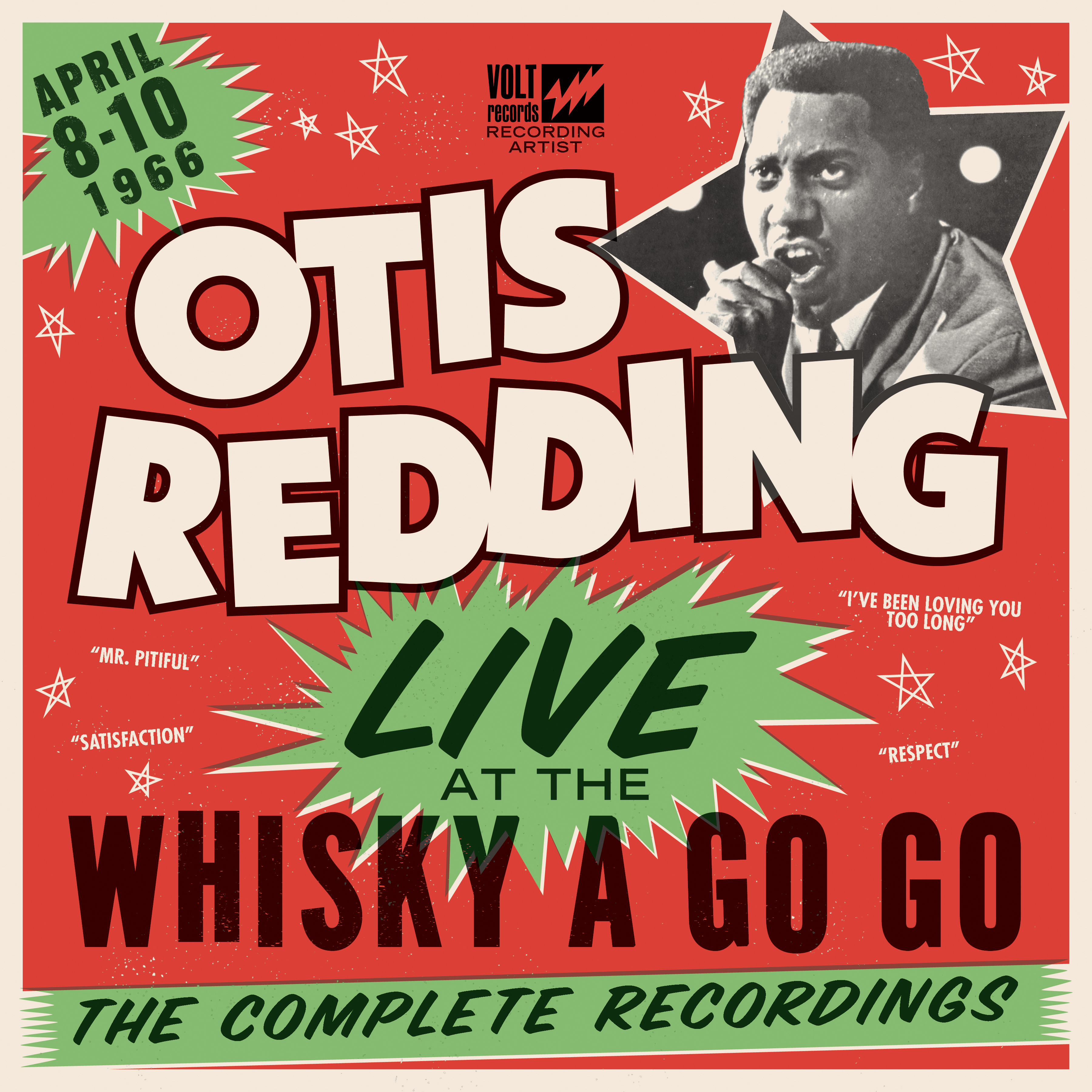Otis Redding Live At The Whisky A Go Go - The Complete Recordings