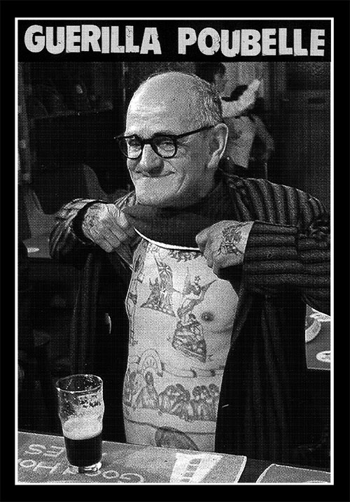 Guerilla Poubelle - TS vieux tattoué