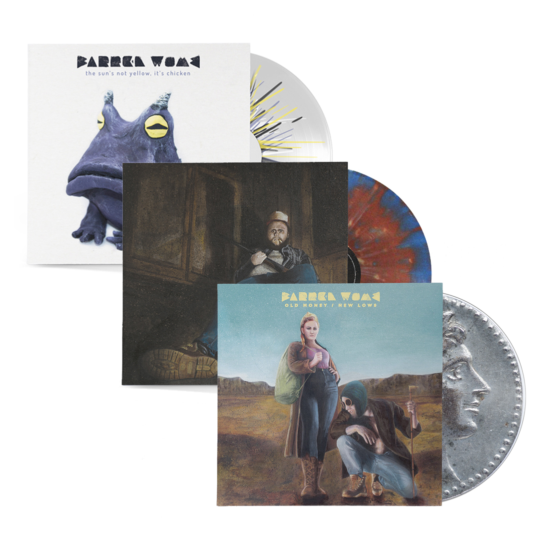 Barren Womb Mega LP Bundle