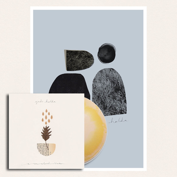 yndi halda - A Sun Coloured Shaker EP A3 print / LP bundle