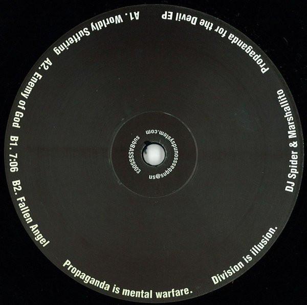 DJ Spider & Marshallito – Propaganda For The Devil EP (subBASS Sound System)