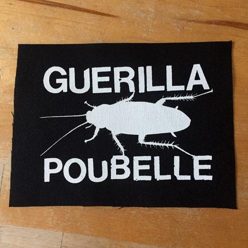 Guerilla Poubelle - patch cafard