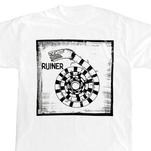 Ruiner 'Snake' White T-Shirt