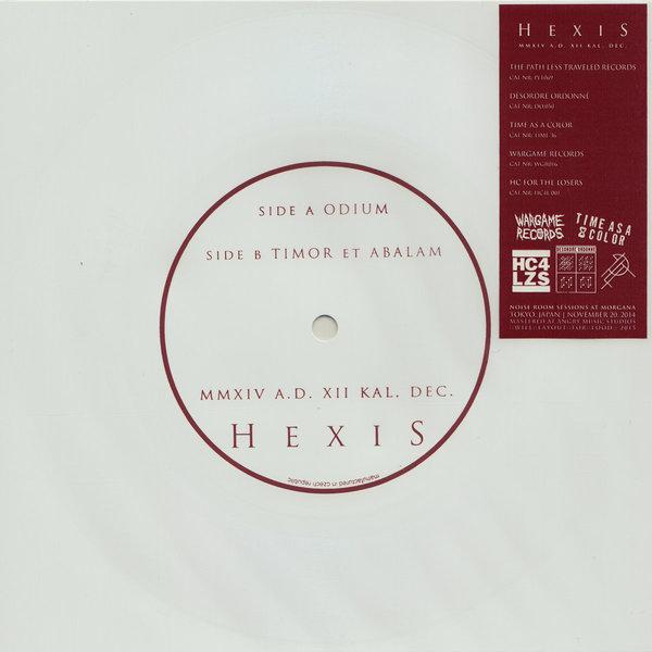 Hexis - MMXIV A.D. XII KAL. DEC. (Flexi Disc)