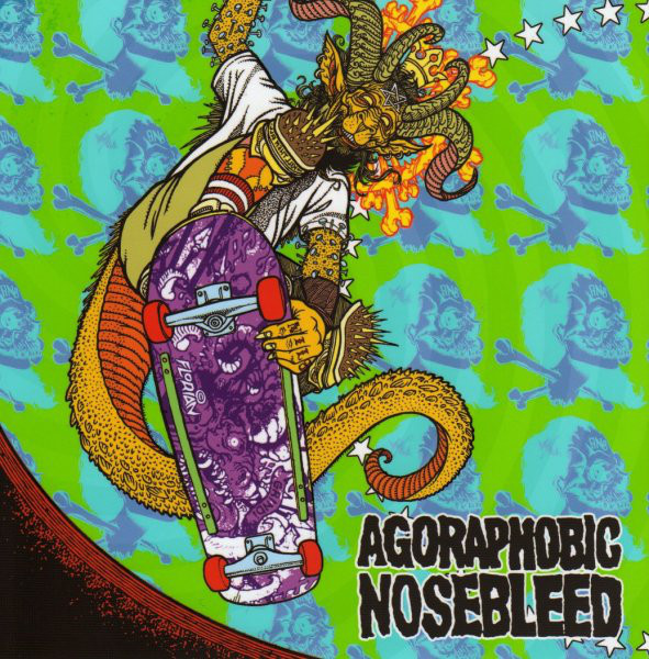 Agoraphobic Nosebleed / Total Fucking Destruction ‎– Frontside Nosegrind EP (7'')