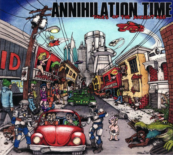 Annihilation Time – III - Tales Of The Ancient Age (CD)