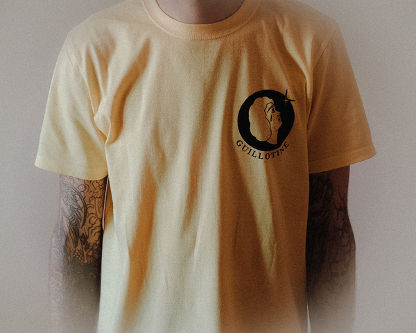 'Moonlight' Tee - Cornsilk Yellow