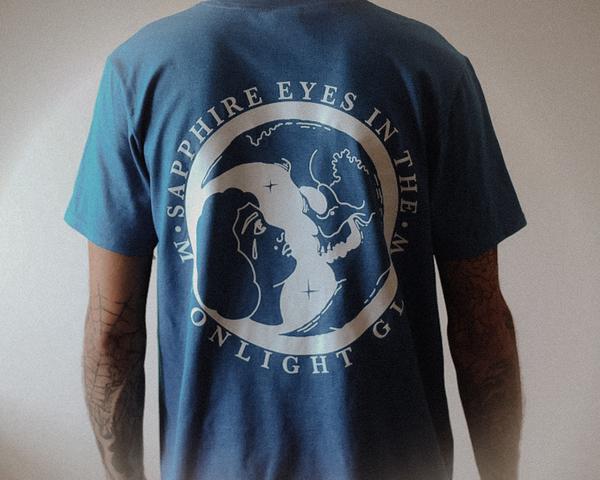 'Moonlight' Tee - Antique Sapphire