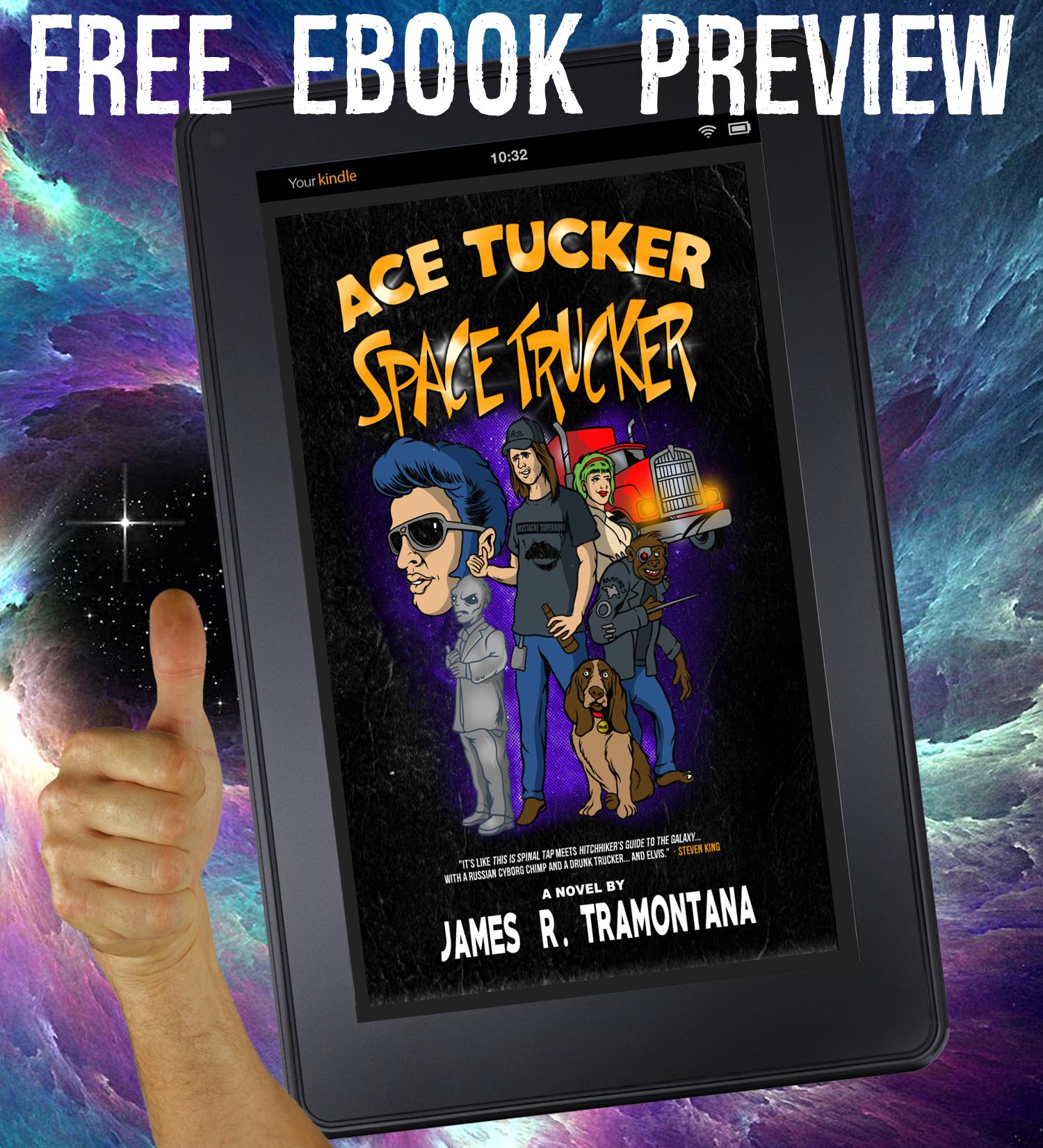 Ace Tucker Space Trucker NOVEL PREVIEW