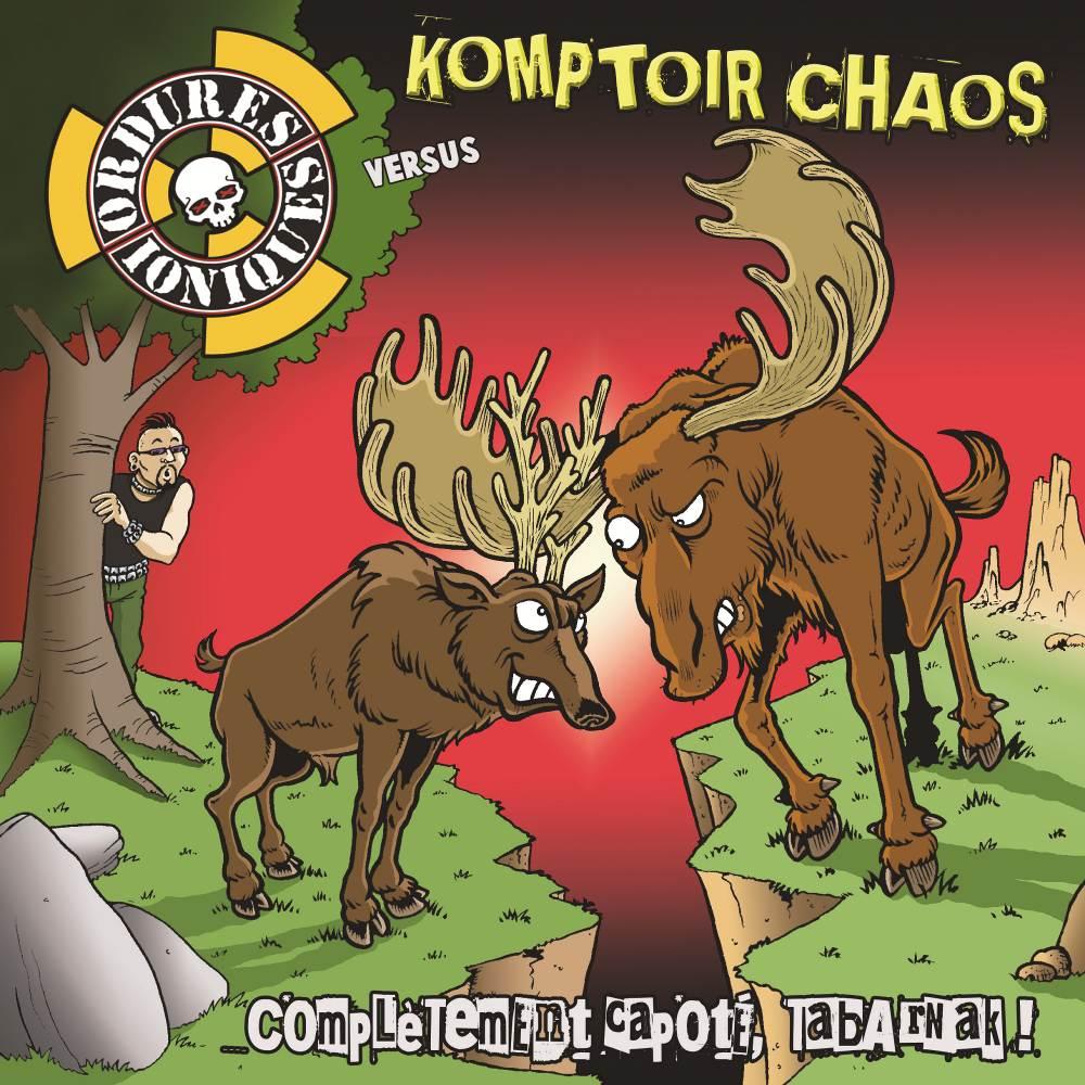Komptoir Chaos + Ordures Ioniques - split