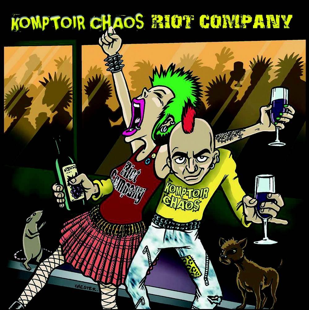 Komptoir Chaos + Riot Compagny - split