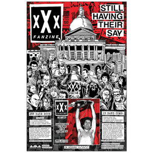 xXx Fanzine 'Still Having Their Say' Poster