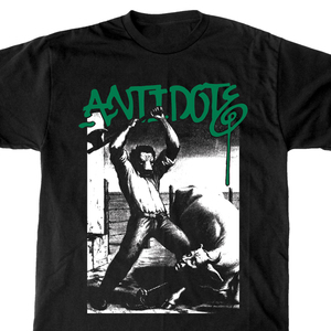 Antidote 'Thou Shalt Not Kill' Black T-Shirt