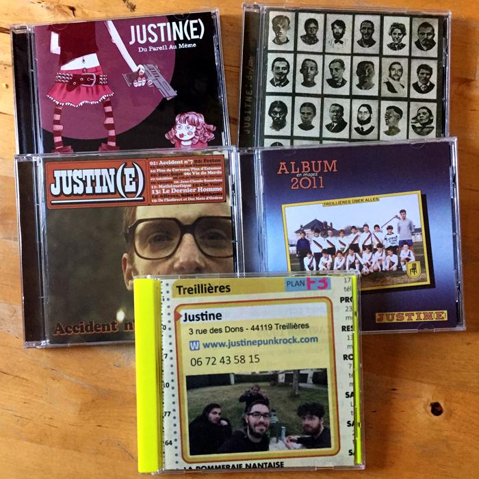 JUSTINE - intégrale CD