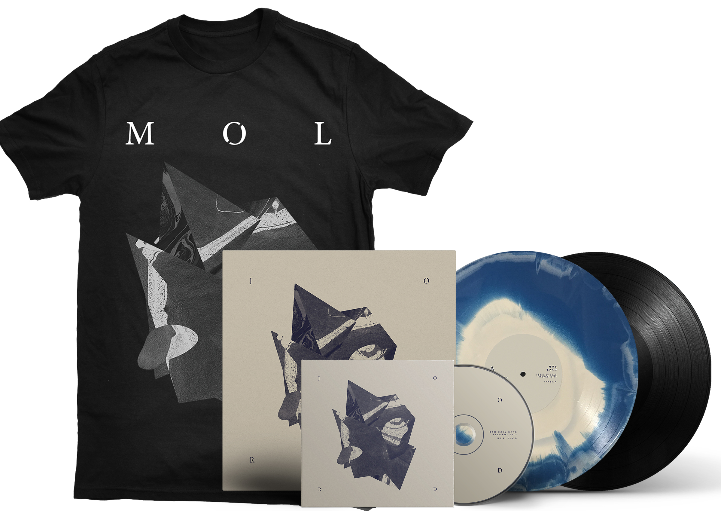 MØL - JORD shirt + LP + CD