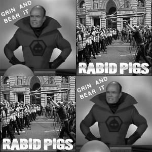 Grin And Bear It / Rabid Pigs