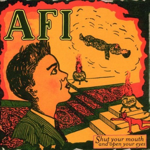 AFI - Shut Your Mouth and Open Your Eyes LP