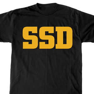 SSD 'Yellow Logo' T-Shirt