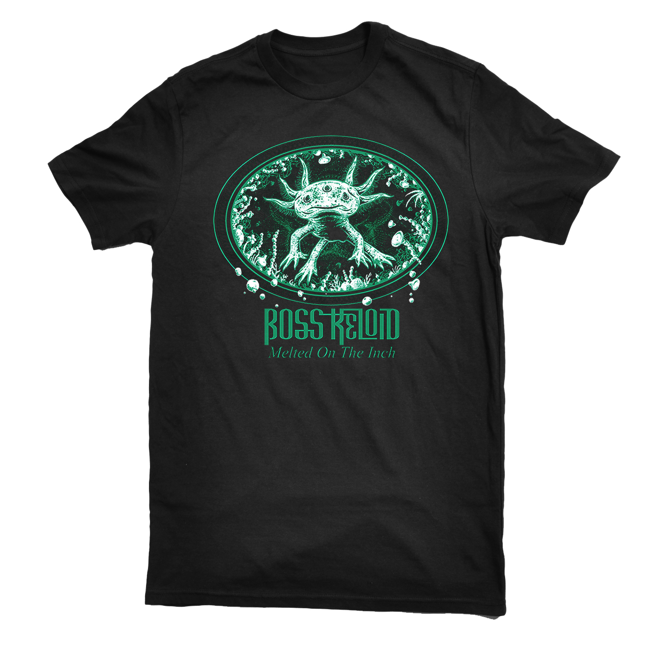 Boss Keloid - Melted On The Inch 'Axolotl' shirt