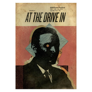 At The Drive In 2018 print
