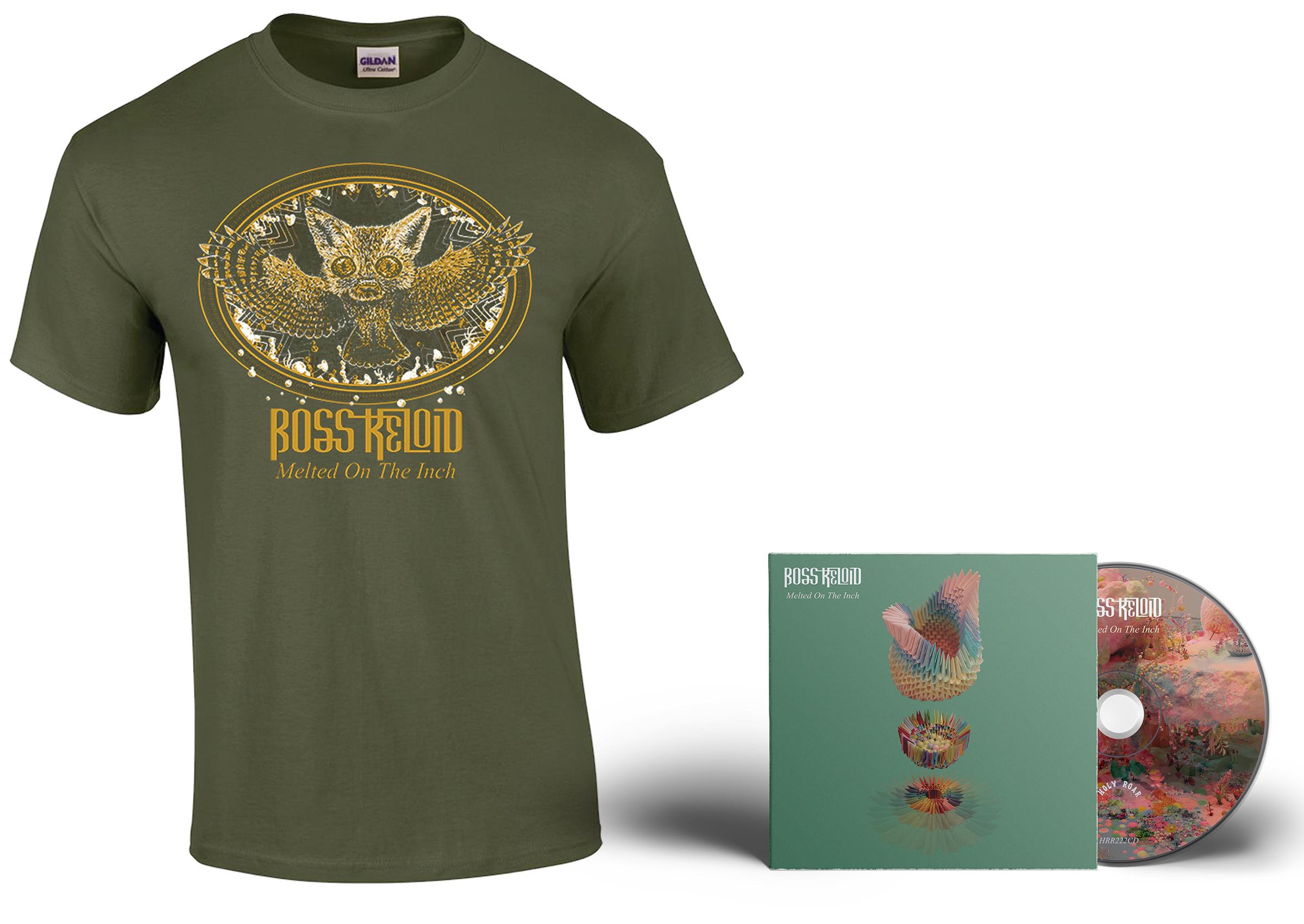 Boss Keloid 'Melted...' Foxowl shirt + CD