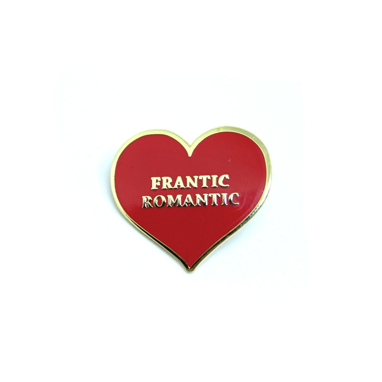 FRANTIC ROMANTIC LAPEL PIN
