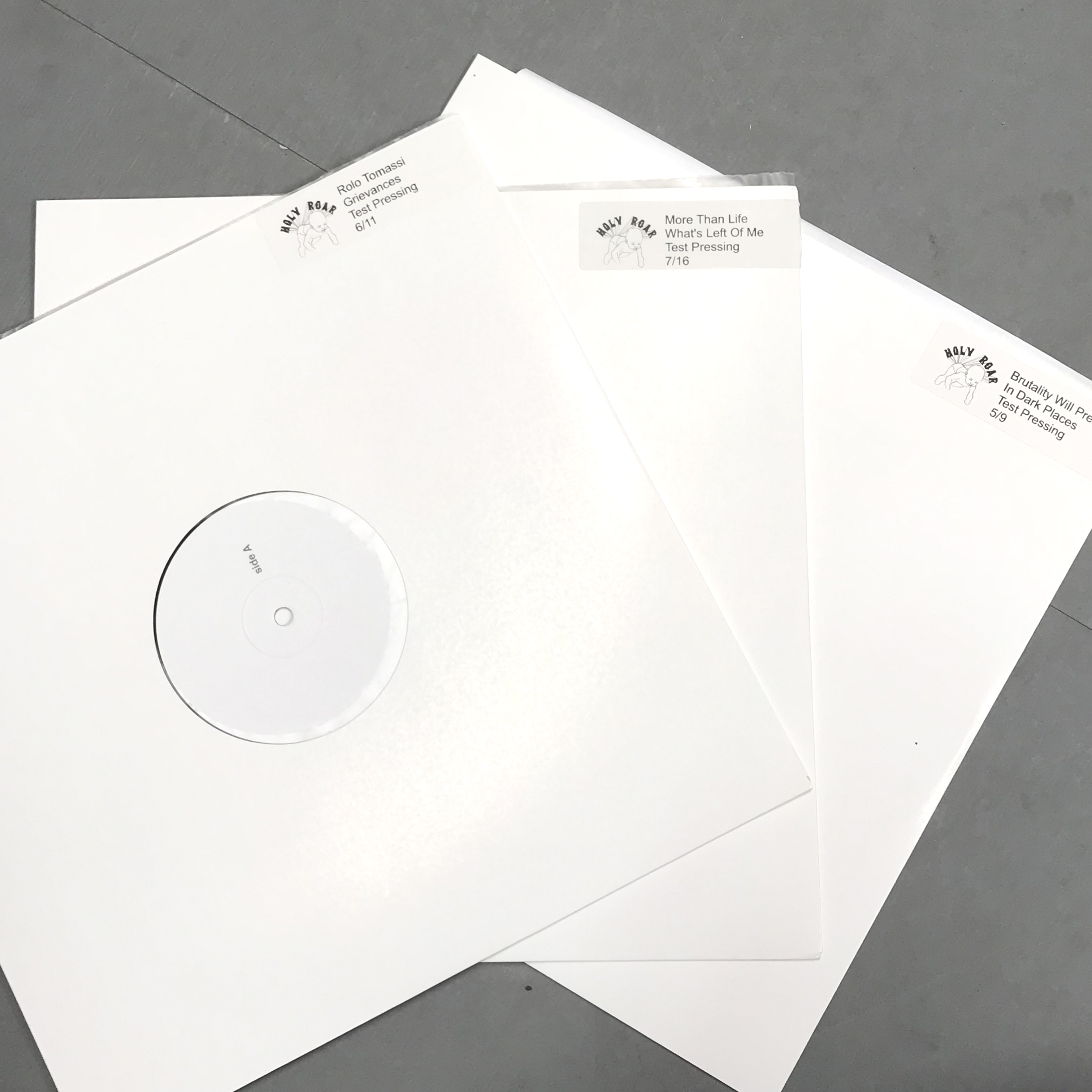 Holy Roar test press SALE (from only £15!!!)